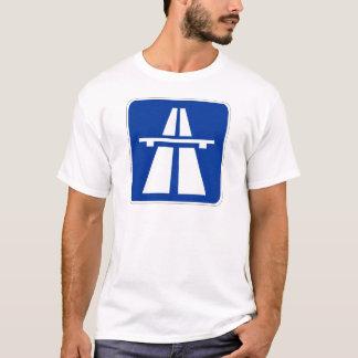 T-shirt Signe allemand d'autoroute
