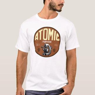 T-shirt Signe atomique de machine de café express