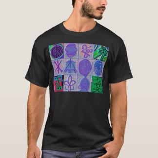 T-shirt Signe curatif 12 V24 de Reiki n    Karuna