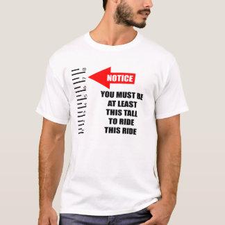 T-shirt Signe d'avis
