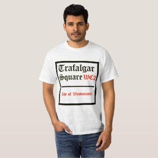 T-shirt Signe de carré de Trafalgar