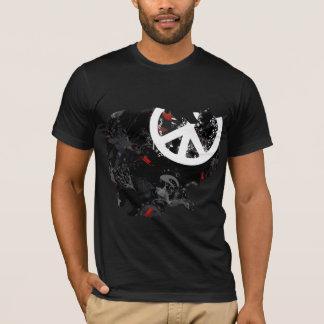 T-shirt Signe de paix à la mode du Cambodge avec la carte