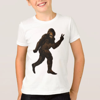 T-shirt Signe de paix de Bigfoot