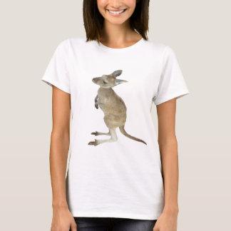 T-shirt Signe de paix de kangourou et d'animal