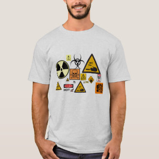 T-shirt Signe de risque T - customisé