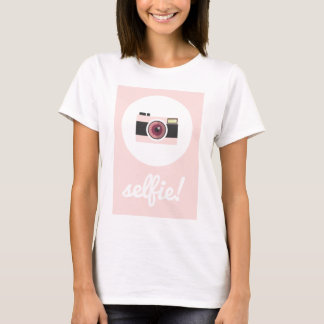 T-shirt Signe de Selfie !