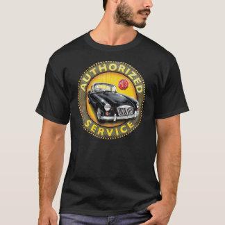 T-shirt Signe de service de coupé de MgA