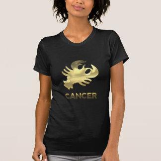 T-shirt Signe de zodiaque de Cancer - édition de vieil or