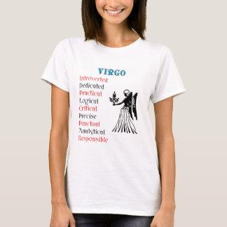 T-shirt Signe de zodiaque d'horoscope de Vierge