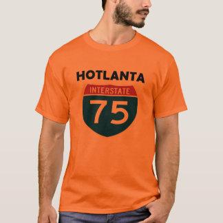 T-shirt Signe d'un état à un autre de Hotlanta Atlanta la
