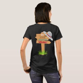 T-shirt Signe louche de caractères