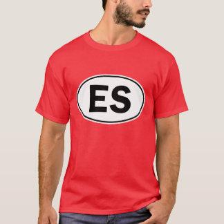 T-shirt Signe ovale d'identité d'es