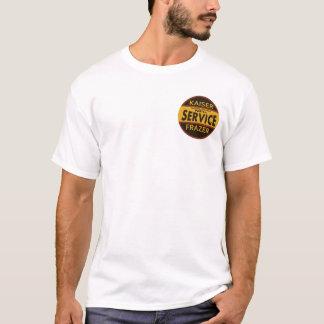 T-shirt Signe vintage de service de Kaiser Frazer