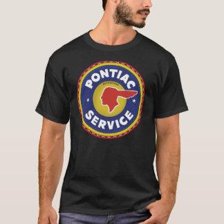 T-shirt Signe vintage de service de Pontiac