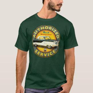 T-shirt Signe vintage métropolitain de service de Nash