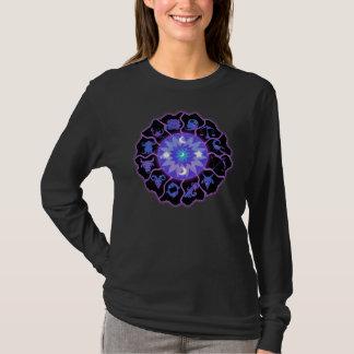 T-shirt Signes astrologiques de roue de zodiaque
