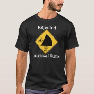 T-shirt Signes rejetés/rampe raide