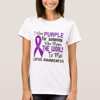 T-shirt Signifie le monde à moi 2 lupus