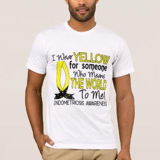 T-shirt Signifie le monde à moi endométriose