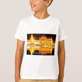 T-shirt Sikh le temple d'or dans les cadeaux et le tee -