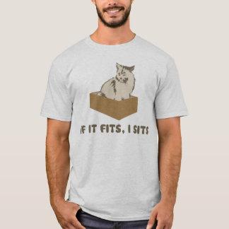 T-shirt S'il va, I repose le chat