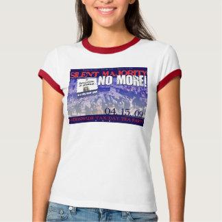 T-shirt Silencieux Majorité-Aucuns plus !