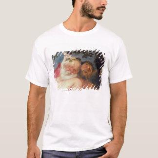 T-shirt Silenus ivre soutenu par des satyres, c.1620