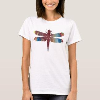 T-shirt Silhouette abstraite de libellule