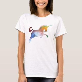 T-shirt Silhouette abstraite de licorne