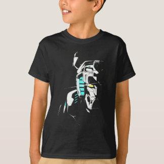 T-shirt Silhouette brillante d'oeil de Voltron |