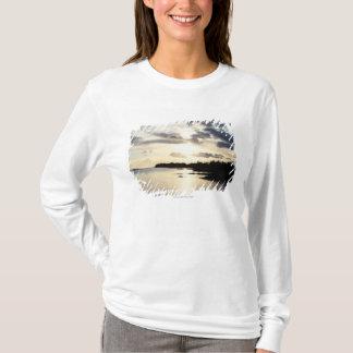T-shirt Silhouette côtière dans le comté Kerry, Irlande