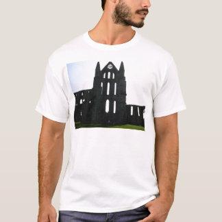 T-shirt Silhouette d'abbaye de Whitby
