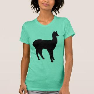 T-shirt Silhouette d'alpaga