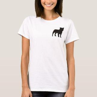 T-shirt Silhouette de chien