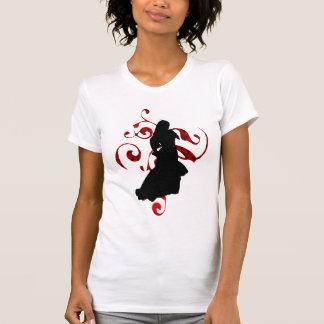 T-shirt Silhouette de flamenco