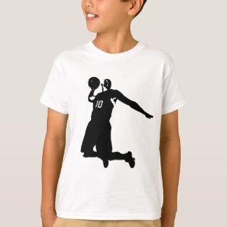 T-shirt Silhouette de joueur de basket