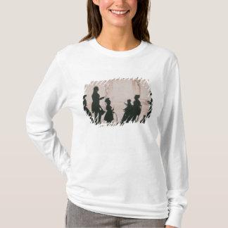 T-shirt Silhouette de la famille de Camsie de