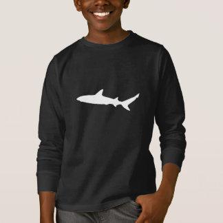 T-shirt Silhouette de requin