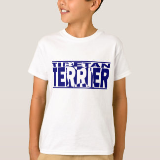 T-shirt Silhouette de Terrier tibétain
