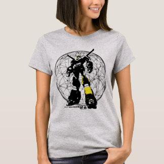 T-shirt Silhouette de Voltron | au-dessus de carte