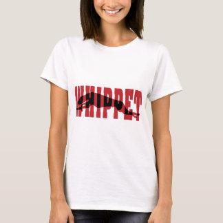 T-shirt Silhouette de whippet