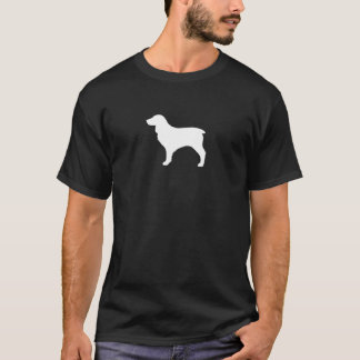 T-shirt Silhouette d'épagneul de Boykin