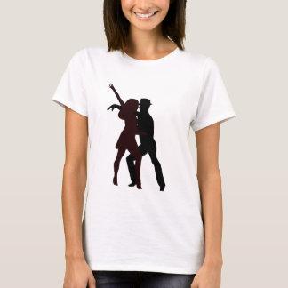 T-shirt Silhouette des danseurs de Salsa