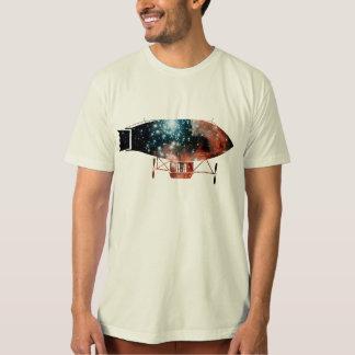 T-shirt Silhouette dirigeable de zeppelin