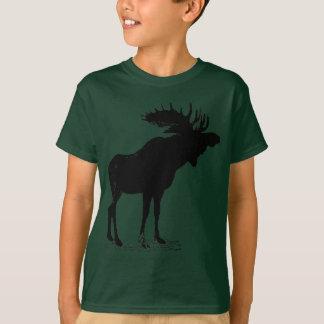 T-shirt Silhouette d'orignaux