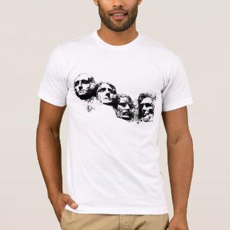 T-shirt Silhouette du mont Rushmore