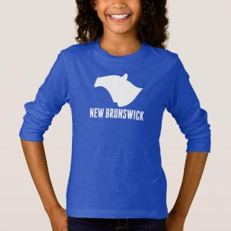 T-shirt Silhouette du Nouveau Brunswick
