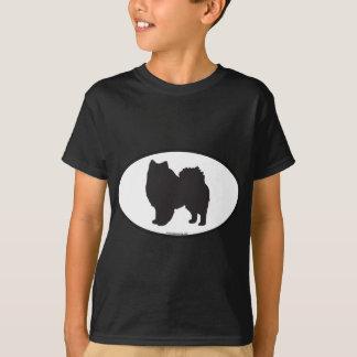 T-shirt Silhouette esquimaude américaine