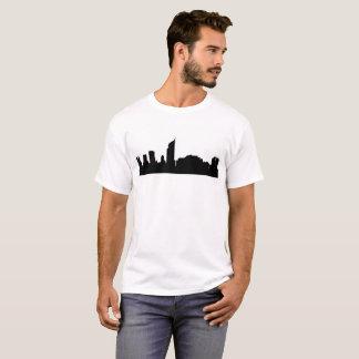 T-shirt silhouette Indonésie d'horizon de ville de Jakarta