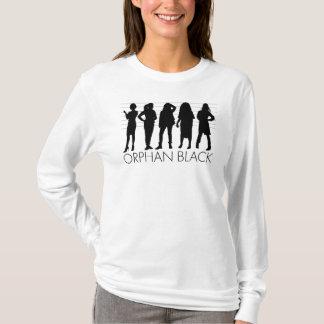 T-shirt Silhouette orpheline de caractère du noir  